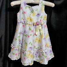 Youngland Girl's Dress Polished Fabric Petticoat Size 4T