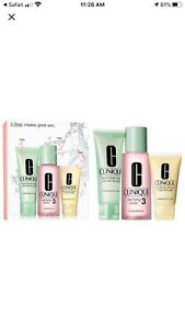 Clinique Introductory Kit 3 Step Set For Oily Skin