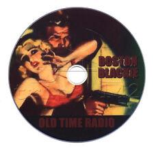 Boston Blackie (OTR) Old Time Radio Crime / Detective / Mystery (mp3 DVD)
