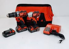 Milwaukee 2697-22CTP M18 2-Tool Combo Kit w/ 3-Batteries