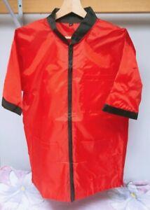 Professional Barber Vest Jacket Red Color,Ultra Lightweight