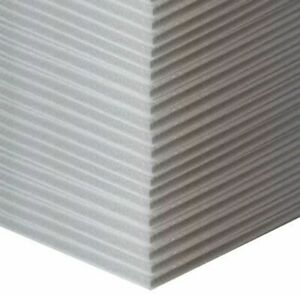 10mm thick expanded polystyrene Sheets, 20 off, 300mm x 600mm. Packaging.