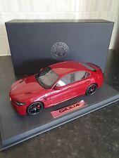 BBR 1/18 Alfa Romeo Giulia Quadrifoglio Rosso Red 1 of 100 Ltd Rare G-Condition