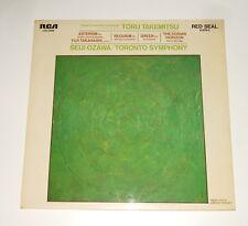Jasper Johns ART COVER - Seiji Ozawa - PROMO LP - TORU TAKEMITSU - Asterism
