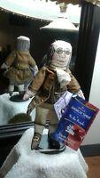 Ben Franklin Hallmark cloth doll  ( American Spirit )