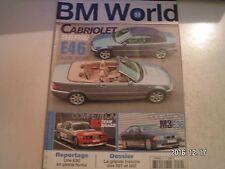 ** BMW World n°59 325i E30 Suisse / Histoire des 501 & 502