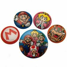 Super Mario Button Badge Set Gift