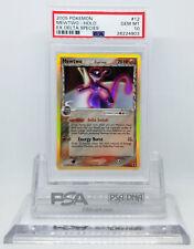 Pokemon EX DELTA SPECIES MEWTWO #12/113 HOLO FOIL CARD PSA 10 GEM MINT #*