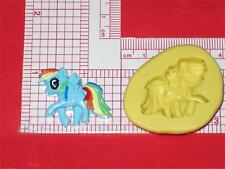 My Little Pony Silicone Mold A609 Chocolate Fondant Gum Paste Resin Clay Fimo