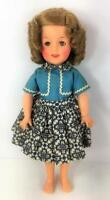 Ideal Shirley Temple ST 12 Doll 1958 Bolero Dress Blue 9504 Vtg Orig Lot 2 Pc