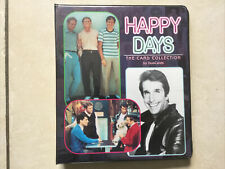 Happy Days Full Set Of 72 Trading Cards In Album - DuoCards 1998