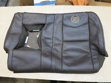2008-2014 CADILLAC ESCALADE 2ND ROW LEFT SEAT UPPER BACK CUSHION COVER LEATHER