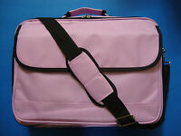 """17"""" 16"""" 15"""" Laptop Notebook Carrying Bag Case Briefcase Purple New"""