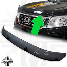 Bonnet bug stone guard deflector Smoked NP300 protector shield accessories trim