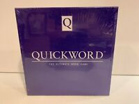 QUICKWORD The Ultimate Word Game 1989 1991 BRAND NEW SEALED Quick Word