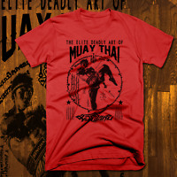 Muay Thai T-Shirt Thailand Kickboxing MMA UFC Thai Boxer Martial Arts Warrior