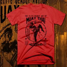 Muay Thai T-Shirt Thailand Kickboxing MMA UFC Thai Boxer Martial Arts Warrior