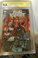 Batman Who Laughs The Grim Knight #1 CGC SS 9.8 3x Sigs Snyder, Tynion, Anacleto