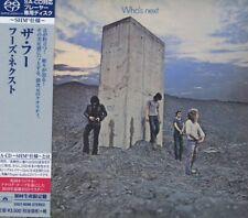 The Who - Who's Next+++SHM SACD Japan+UIGY-9596++NEU++OVP