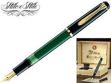 Pelikan M151 Verde Nera | Penna Stilografica Pelikan Green Black | Fountain Pen