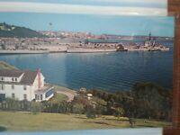 vintage Photo Post Card  PIER 91 & SEATTLE WASHINGTON