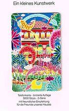 Telefonkarte Limtiert (3000 Stück) Vogelsang / Intermezzo Neu auf Presentblatt