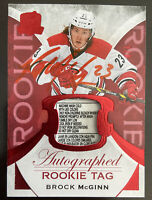 2015-16 UD The Cup Auto Rookie Tag /8 Brock McGINN