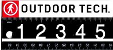 Outdoor Technology Sticker Decal Tech Red Yeti Sasquatch Ski Snowboard