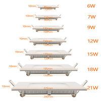 Ultraslim LED Panel Einbaustrahler Deckenleuchte Wandleuchte Einbauleuchte Lampe