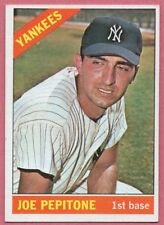 1966 Topps Joe Pepitone New York Yankees #79 (nm) off-center/but sharp and clean