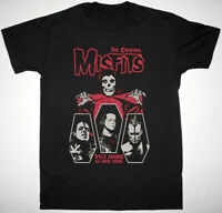 Reprint Misfits Walk Among Us Once More Tour Black Men S-234XL T-shirt LL510