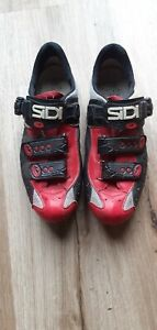 Mens Cycling Shoes For Racing Bike Cleated For Look Pedals Size 43/9