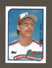 2017 Topps Heritage 1989 Randy Johnson Rookie Rediscover RED Foil HOF RARE!