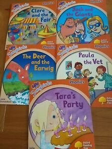 Oxford Reading Tree Songbirds Phonics Stage 6 Early Learning To Read x 5 Books