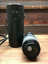 SIGMA 80-200MM F3.5-4 HIGH SPEED ZOOM MANUAL FOCUS LENS