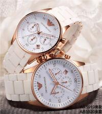 Emporio armani original exclusive AR5919 & ar5920 PAIR couple watch set