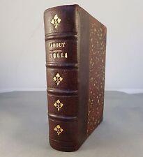 EDMOND ABOUT / TOLLA / 1883 PETITE BIBLIOTHEQUE-CHARPENTIER, 2 DESSINS DE UBERTI