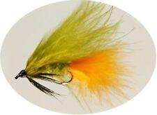 Mouches orange truite pour la pêche