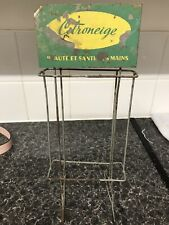 Vintage Advertising Shop Display Stand