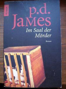 Im Saal der Mörder von P.D. James ROMAN KRIMI