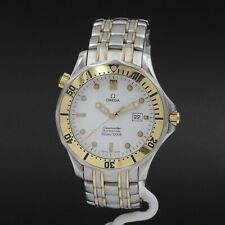 OMEGA SEAMASTER PROFESSIONAL 41MM TWO TONE STAINLESS/18K MEN'S WRIST WATCH #8627