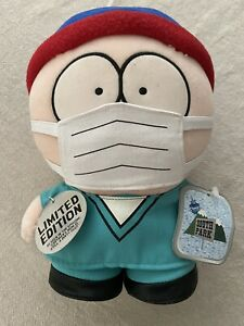 💎South Park Doctor Stan Plush Limited Edition 1998 Rare Tagged Mint 💎