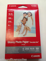 Canon GP-501 Glossy Photo Paper, 100x150 mm, 6X4 100SH