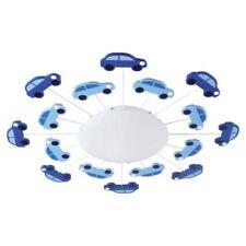 Plafonniers et lustres bleus en verre pour la maison avec 1 - 3