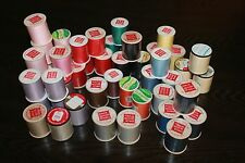 SEWING THREAD LOT OF 48- NEW PIECE GOODS SHOP EXCELL ZAYRE U.S.A