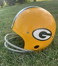 Vintage Rawlings HNFL-N Youth Large Green Bay Packers Helmet USA