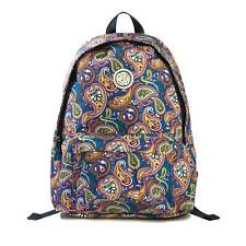 Pretty Green Paisley Nylon Backpack One Size
