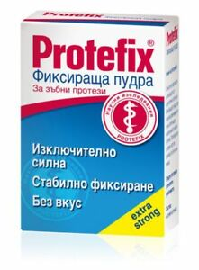 Protefix Adhesive Powder / Extra Strong Fixation for Dentures / 20 gr. / 2 PIECE