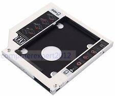 2nd HDD HD SSD Hard Drive Caddy Adapter SATA to SATA for Apple MacBook pro 9.5mm