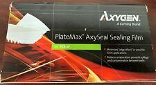 Axygen Corning Pcr-Sp Axyseal Sellado Película Paquete de 100 sin Esterilizar